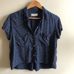 Abercrombie&fitch cropped shirt